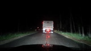 we followed the trucks on clinton road...