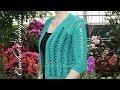 Lace jacket crochet pattern