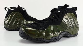 NIKE AIR FOAMPOSITE ONE LEGION GREEN REVIEW + ON FEET