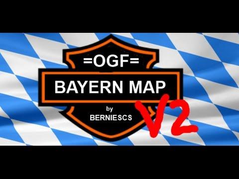OGF Bayern- LANDWIRTSCHAFTS-SIMULATOR 15 - MOD-MAP VORSTELLUNG