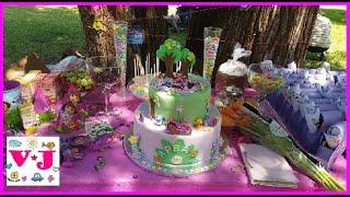 ★ День Рождения Варвары 2 года Даша Путешественница Second Varvara's DORA birthday party celebrating