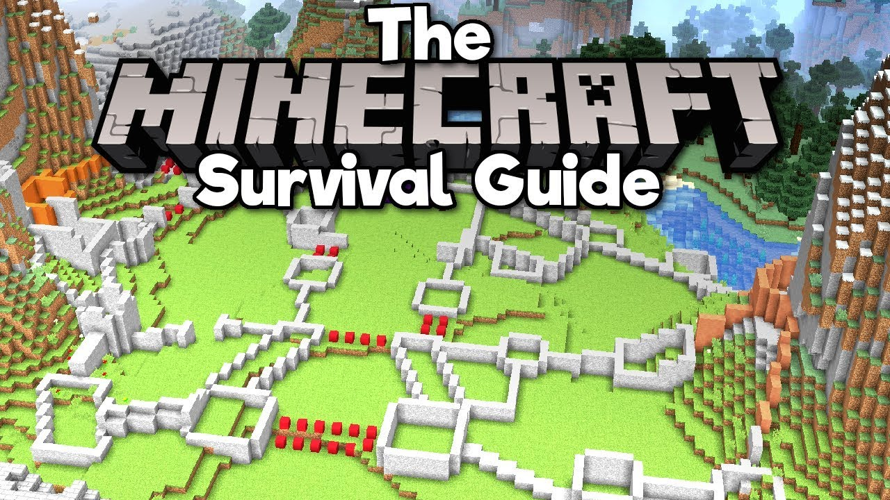 Castle Building  Pt 1  Foundations The Minecraft Survival Guide  Tutorial Lets Play   Part 113