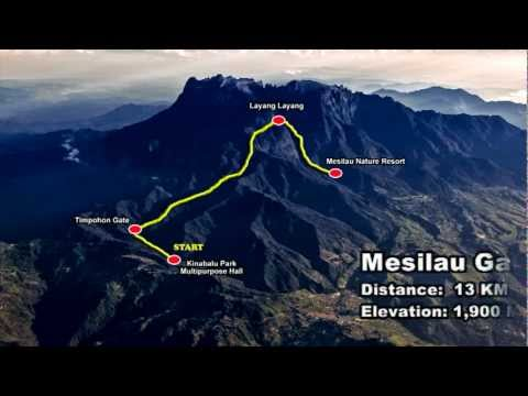 26th Mt.Kinabalu International Climbathon Challenge 2012 Official Promotion Video