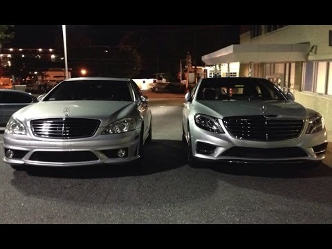 2014 mercedes benz s class s550 w222 vs 2007 s550 w221 youtube. Black Bedroom Furniture Sets. Home Design Ideas