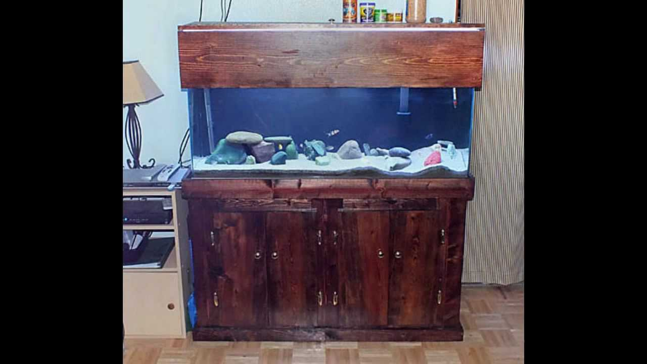 How to build a fish tank stand youtube for Fish tanks with stands