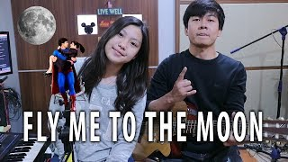Gambar cover Fly Me To The Moon | by Nadia & Yoseph (NY Cover)
