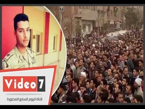 فيديو..الشهيد الملازم أول أحمد الشاذلى يفتدى كتيبة بأكملها من تفجير التكفيريين بسيناء