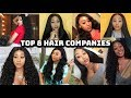 My Top 8 Hair Companies | THE BEST HAIR COMPANIES ON ALIEXPRESS