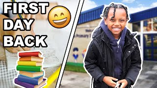 His First Day Back to School | Family Vlog | The Williamson's