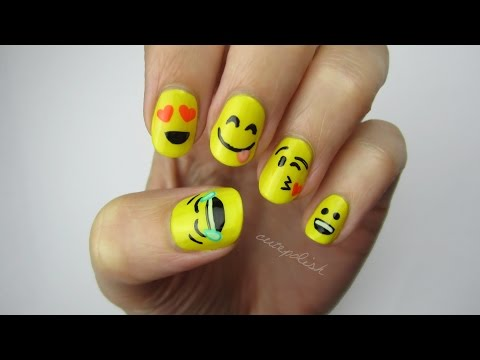 Emoji Nail Art!