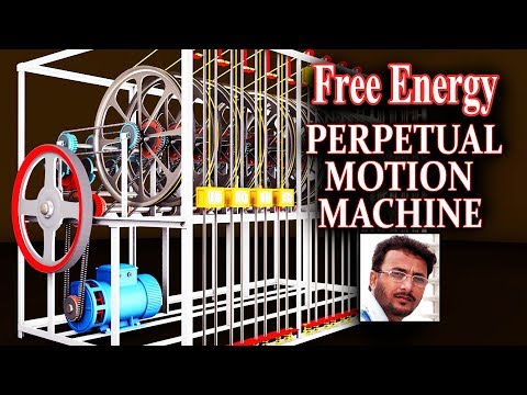 FREE ENERGY - Perpetual Motion Machine Gravity Based Automatic - How to make Machine at home DIY
