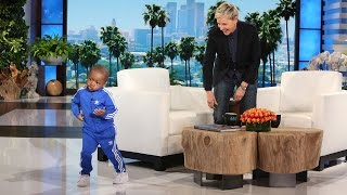 Five-Year-Old Tavaris and His Terrific Moves Are Back! thumbnail