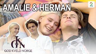 Det første intervjuet med Amalie og Herman