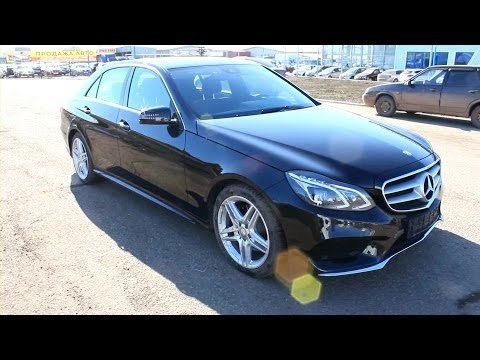 2013 Mercedes-Benz E200 (W212). Start Up, Engine, and In Depth Tour.