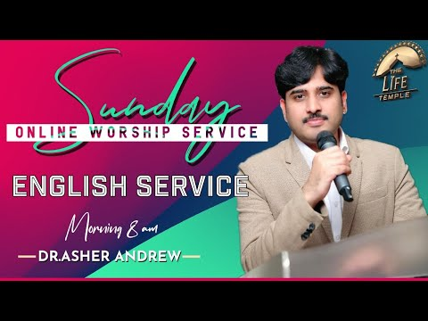 #SundayService English worship service live  22-11-2020    Dr Asher Andrew    The Life Temple