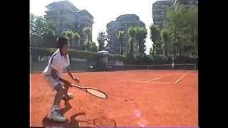 Kei Nishikori Age:13 (錦織圭 13歳) /2003 Tennis Europa Un16-Italia(2003年 テニスヨーロッパ 16歳以下イタリア大会) 錦織圭 検索動画 28