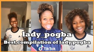 lady pogba TikTok videos compilation | ⚽Best of lady pogba South Africa football girl⚽ | TikTokSA