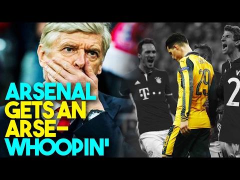 Bayern Munich 5 -1 Arsenal | Arsenal Gets An Arse -Whoopin' -#SaharaSports