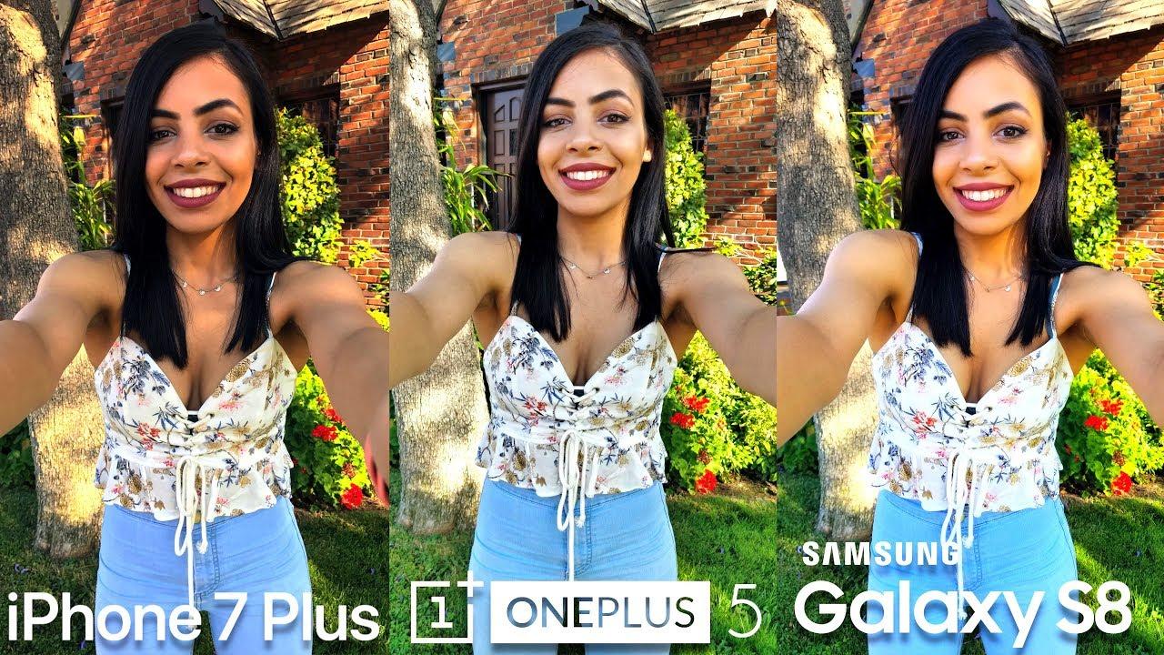 oneplus 6 vs iphone 7 camera
