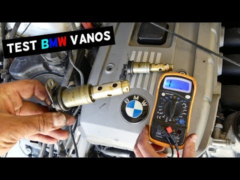HOW TO TEST BMW VANOS SOLENOID