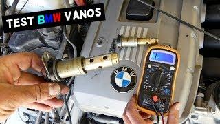HOW TO TEST BMW VANOS SOLENOID