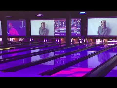 Be Media AV Bowling Lane Lights & Video