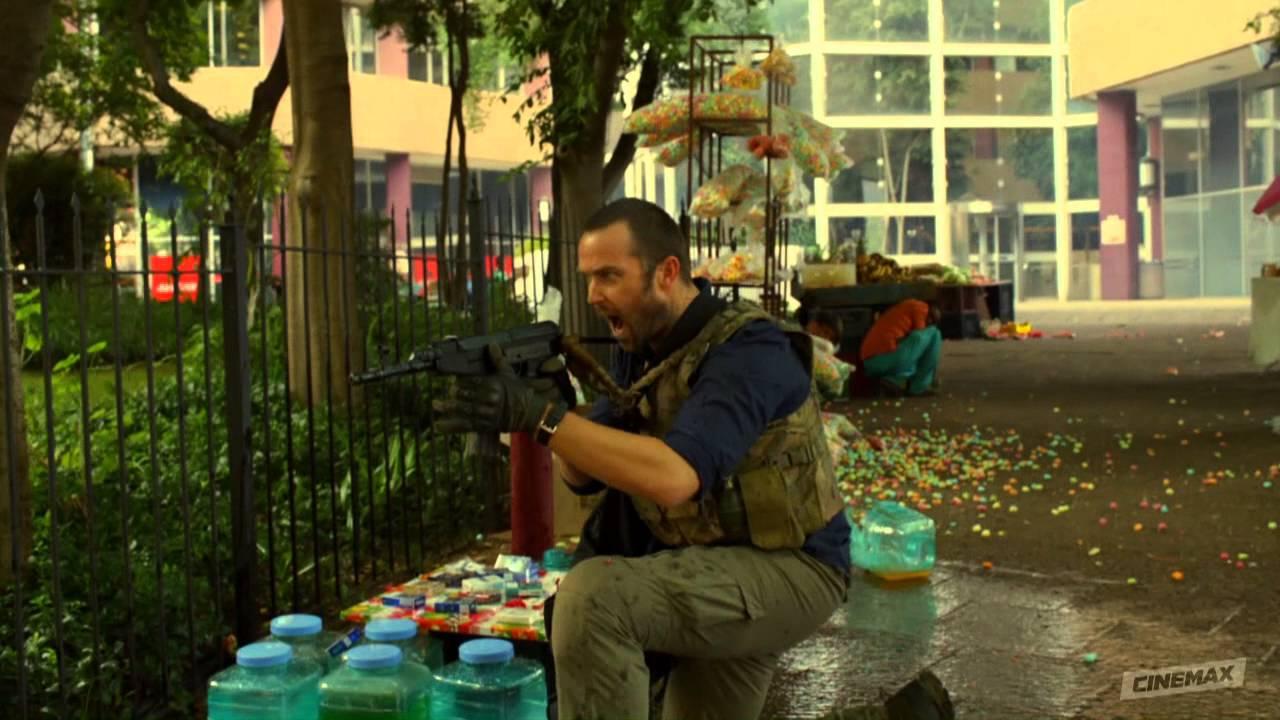 Download Strike Back Season 3: Episode 2 Clip - Drug Cartel Attack Scott and Stonebridge