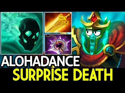 ALOHADANCE [Wraith King] Surprise Death 7.13 Dota 2