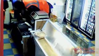 Разбойное нападение на магазин в Новотроицке