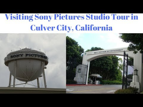 Visiting Sony Pictures Studios Tour in Culver City, California #Hollywood #TravelTips