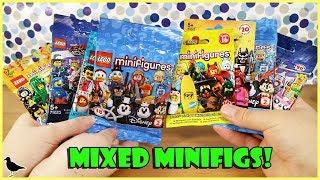 Lego Minifigures Blind Bags Opening! Disney, Lego Movie, Batman & more! | Birdew Reviews
