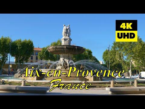 Aix-en-Provence, France In 4K (UHD)