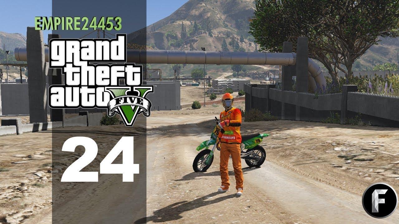 GTA 5 Roleplay - Episode 24 - Dirt Biking! (Criminal)