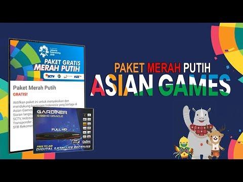 ASIAN GAMES 2018 - Cara Daftar Paket GRATIS Di NINMEDIA CHINASAT11