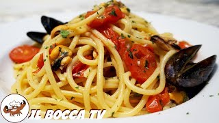 510 - Spaghetti alla tarantina...dalla sera alla mattina! (pasta cozze e pomodoro facile e veloce)