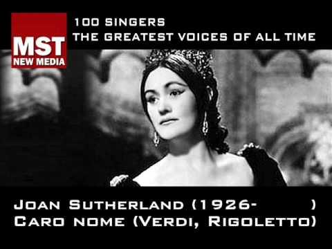 100 Greatest Singers: JOAN SUTHERLAND