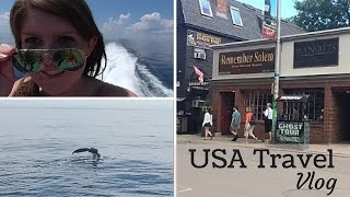 Usa Adventure Vlog: Whale Watching | Witches | I'm Becoming A Sailor