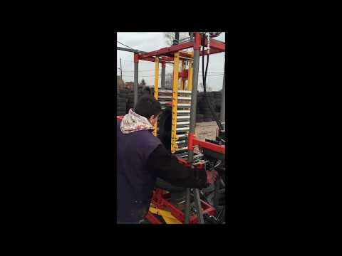Hydraulic tyre tripling machine COT-7