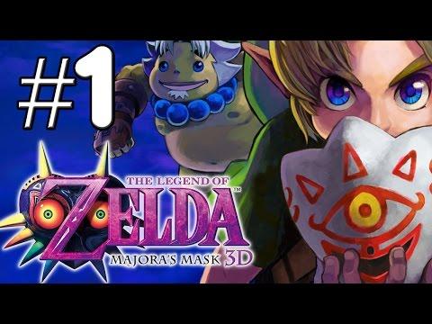"""Zelda Majora's Mask 3D (Parte 1) """"El comienzo de la gran aventura del niño Deku"""""""