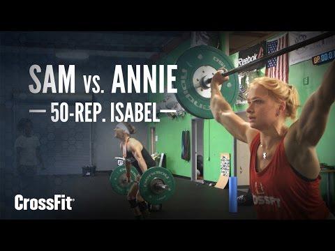 Sam vs. Annie: 50-rep Isabel