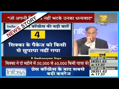 Elected by shareholders, have a job to do: Infosys chairman R Seshasayee
