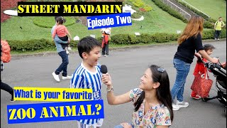 【Street Mandarin】Ep.2 Taipei Zoo Animals【街頭華語】第二集:動物園