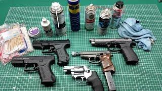 Schreckschusswaffen Reinigen / Ölen