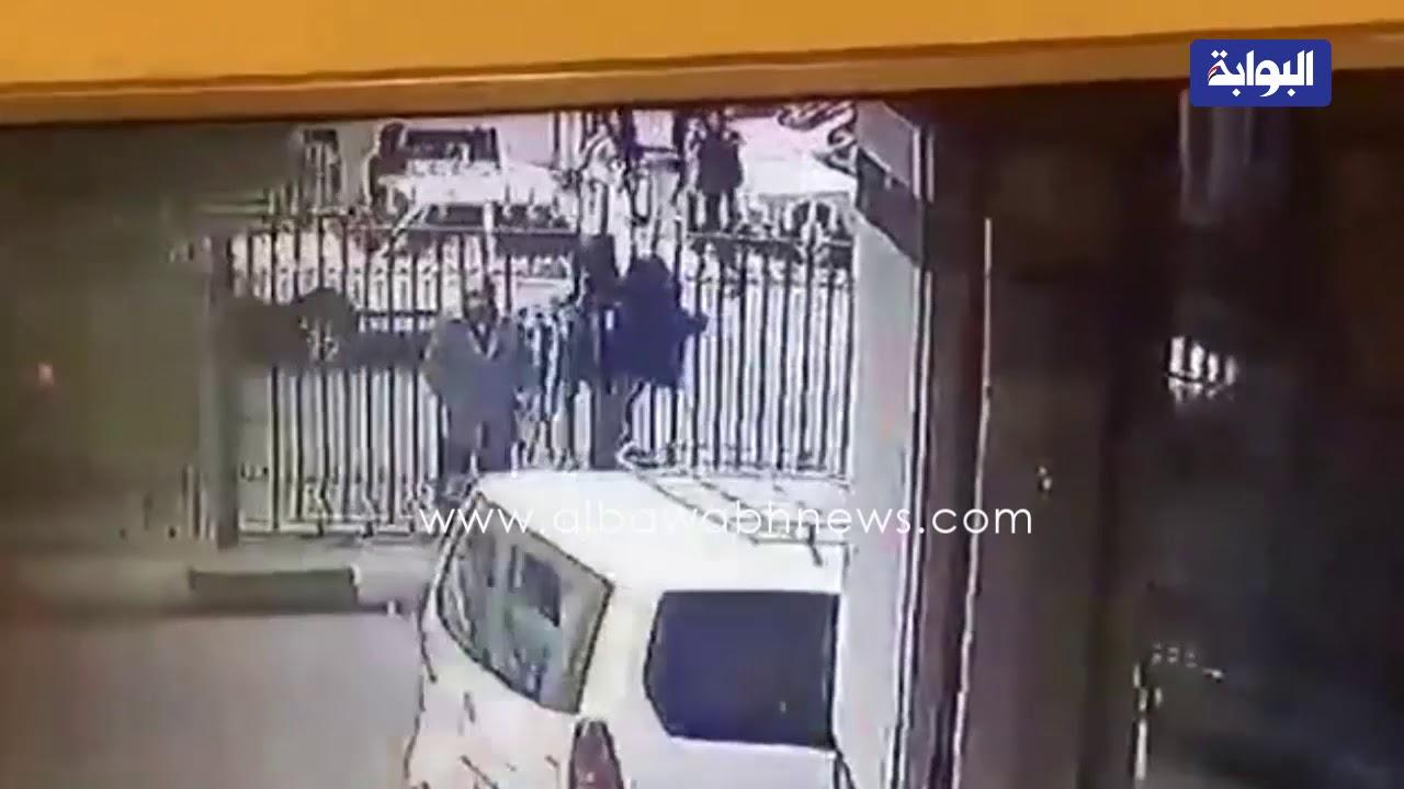 شاهد اللقطات الأولى لانفجار الدرب الأحمر خلف المسجد الأزهر