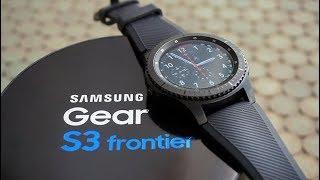ارقى ساعة من سامسونغ Samsung Gear S3 بمواصفات رهيبة وأداء اقل ما يقال عنه خرافي