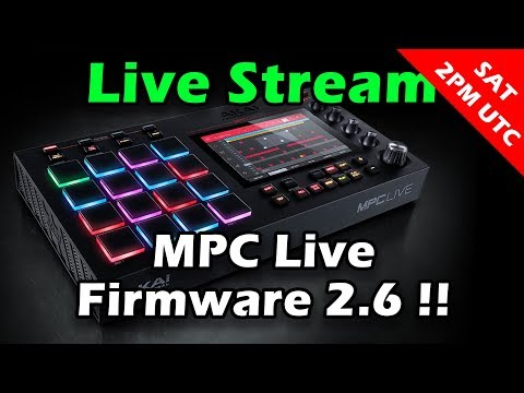 ranzee-live-stream-#18---akai-mpc-live-firmware-2.6