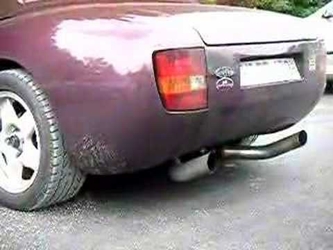 TVR Griffith 4.3 Sound with broken exhaust