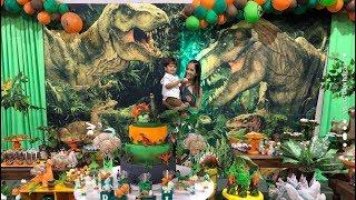 FESTA DE 03 ANOS DO DAVI LIONEL. * Tema Dinossauros.