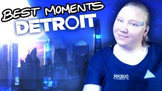 Nae Nae: Become Anxiety (MONTAGE) Best Moments of Detroit: Become Human!