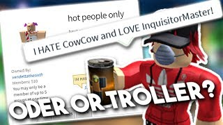 ROBLOX THE MOST DISGUSTING ODER (Or The Best Troll?!)
